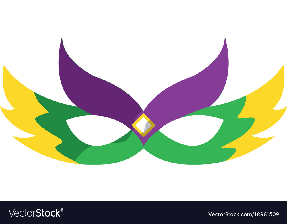 mardi gras carnival icon image royalty free vector image rh vectorstock com mardi gras vector free mardi gras vector images