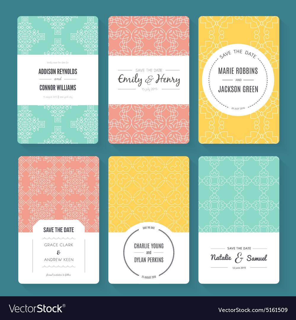 Ornamental Card Templates