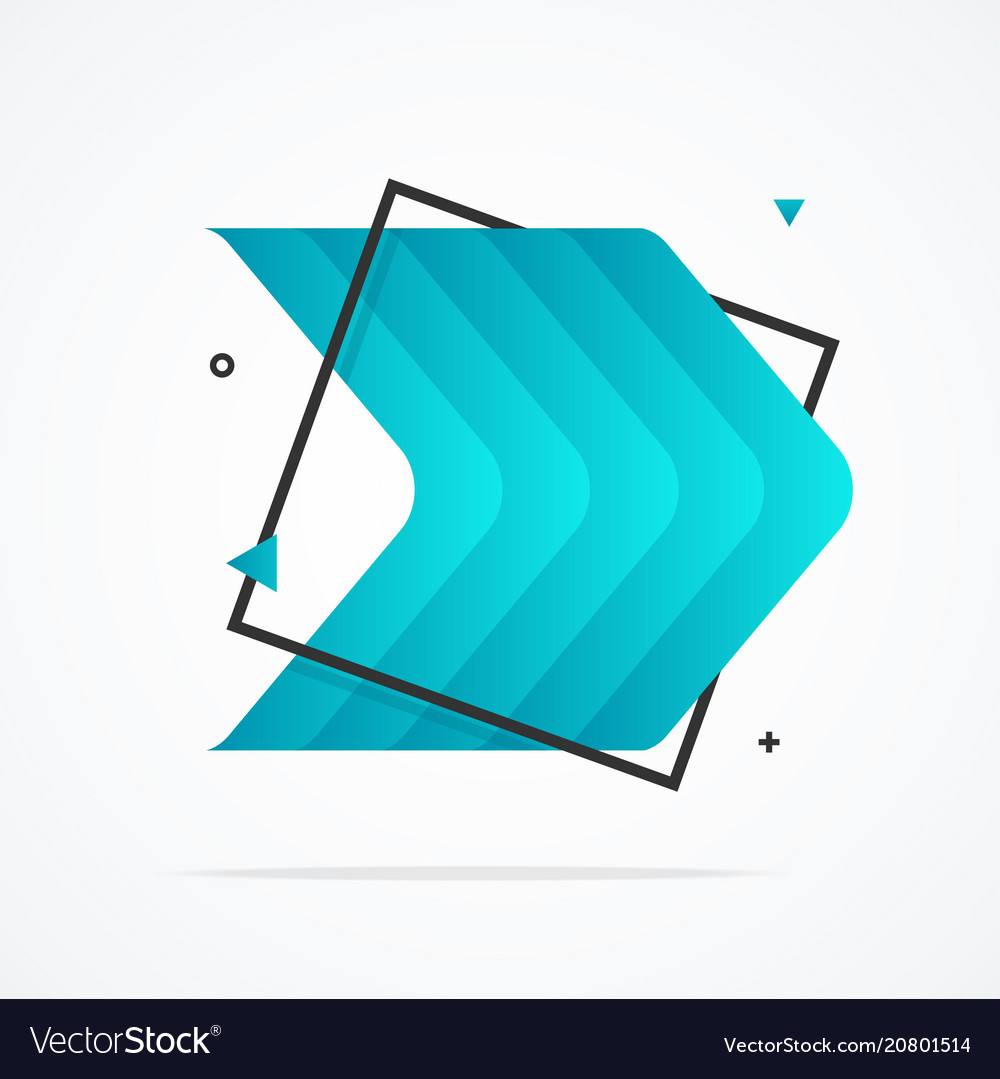 Abstract background card advertising design vector image