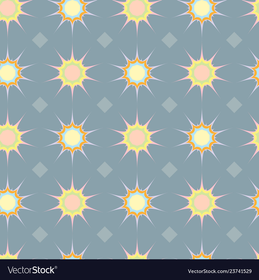 Abstract ethnic geometric seamless pattern with