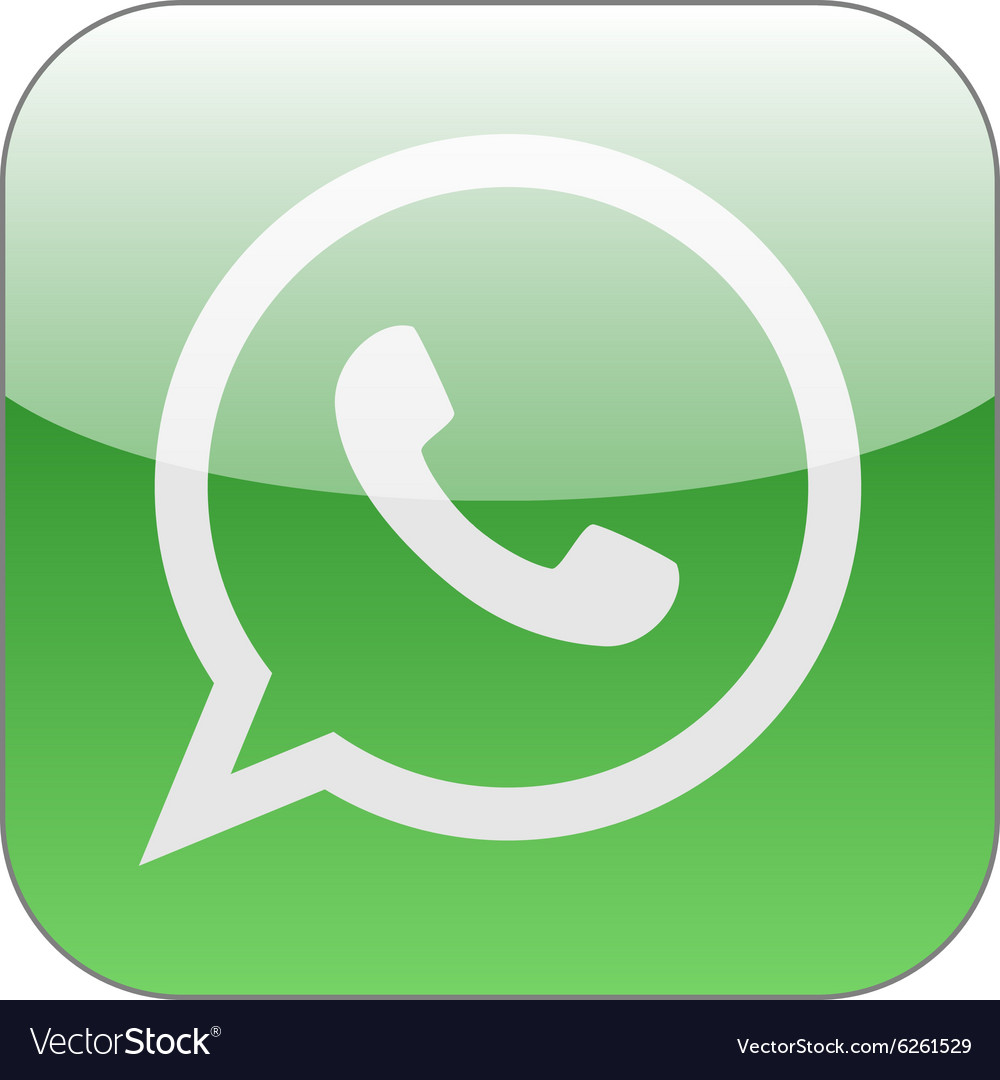 Green phone in speech bubble icon WhatsApp