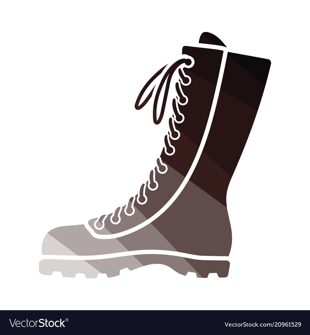 Hiking boot icon