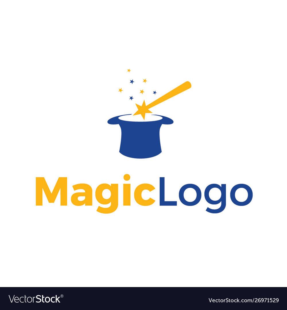 Magic logo Royalty Free Vector Image - VectorStock