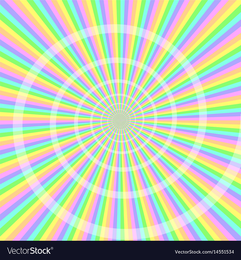 Pastel light with spiral abstract background