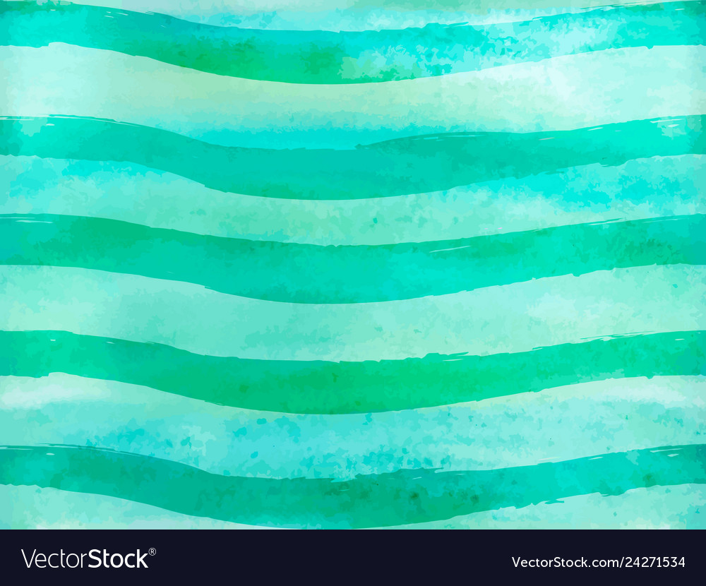 Seamless pattern green ombre watercolor