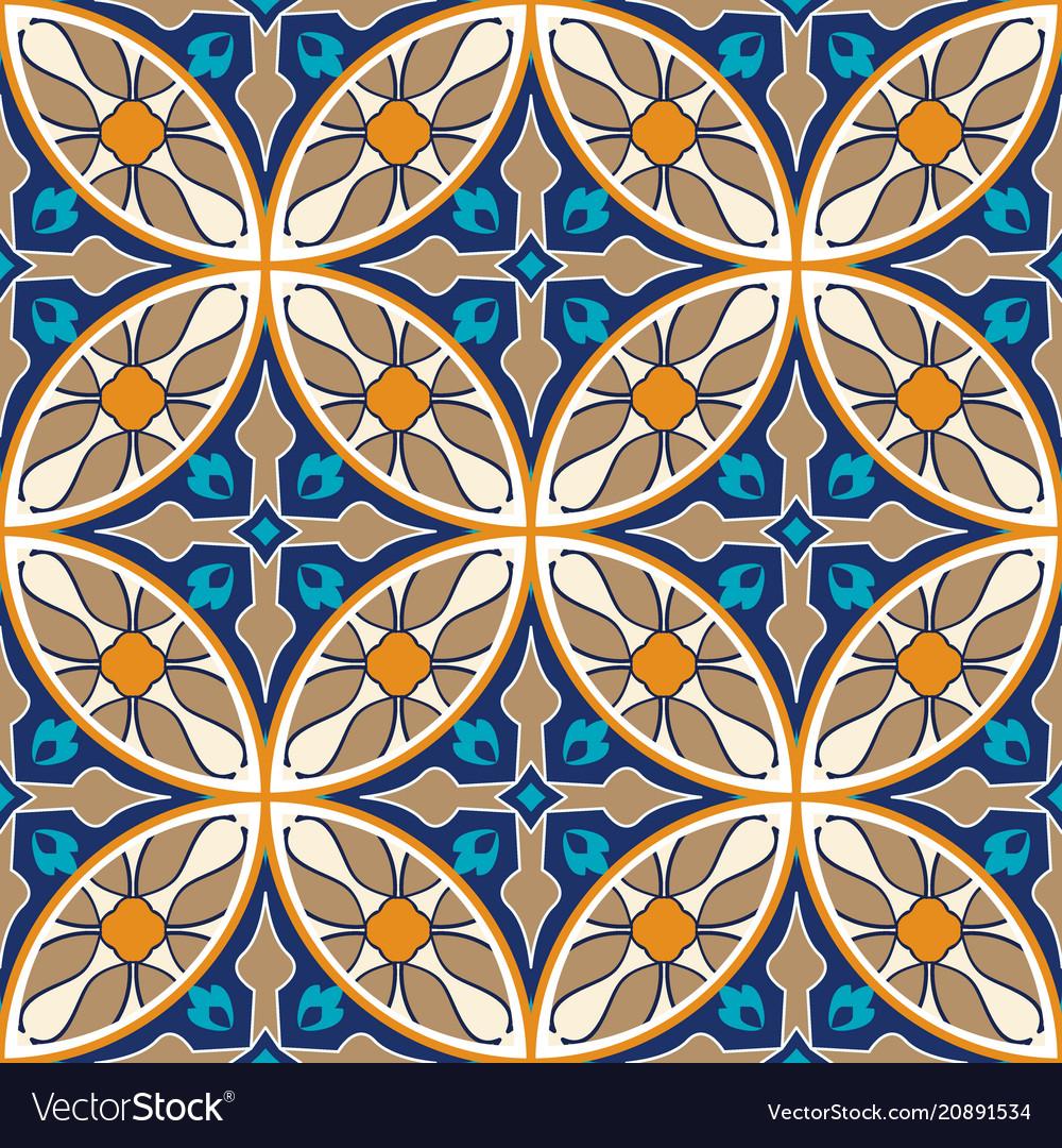 Seamless texture mosaic patchwork ornament