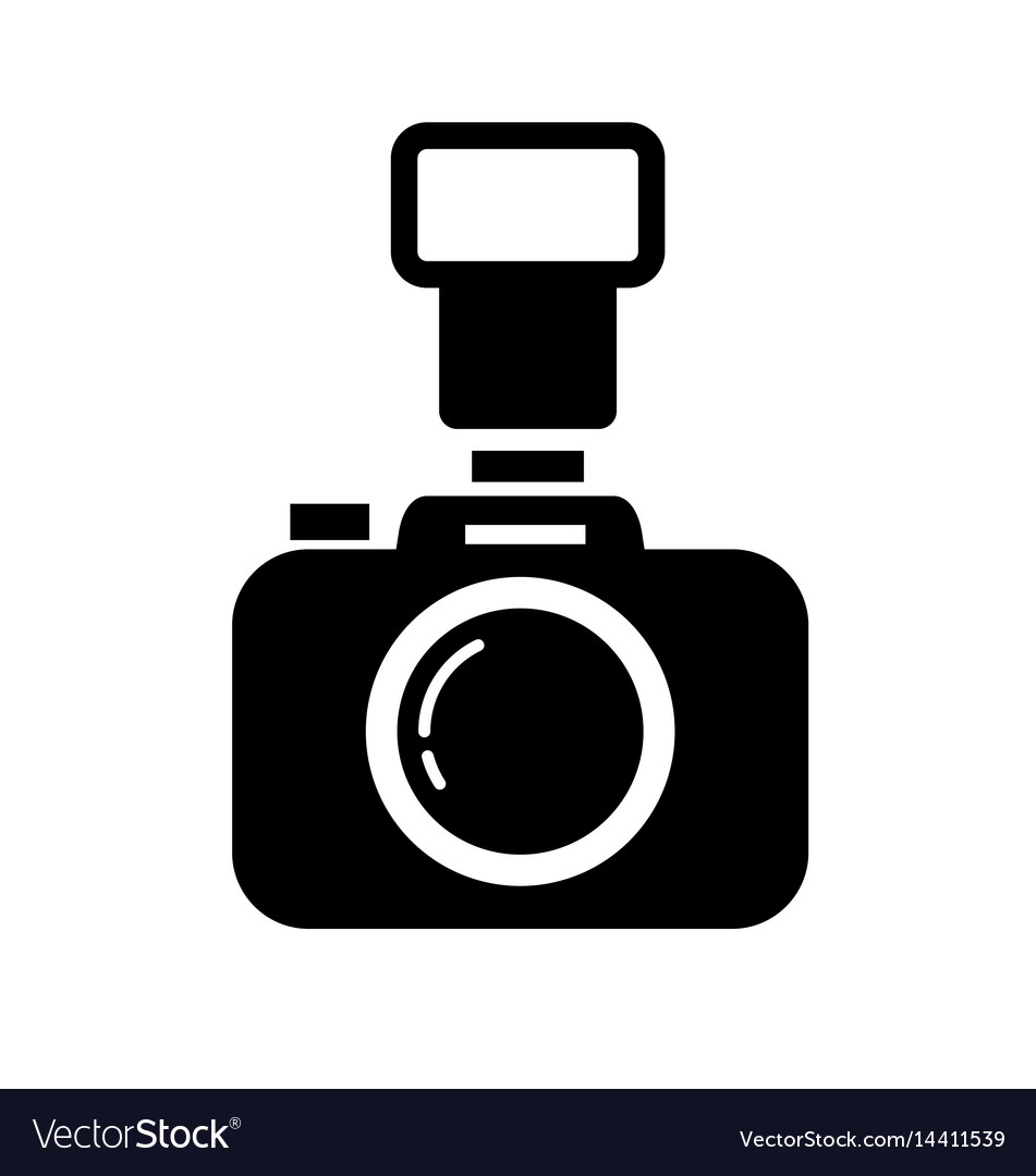 dslr camera royalty free vector image vectorstock rh vectorstock com camera vector file camera vector images