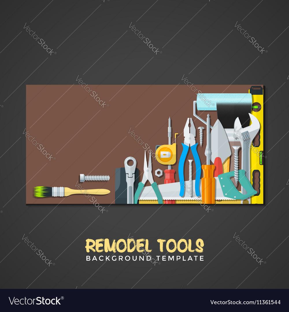 Remodel Tools Backdrops Banner Templates