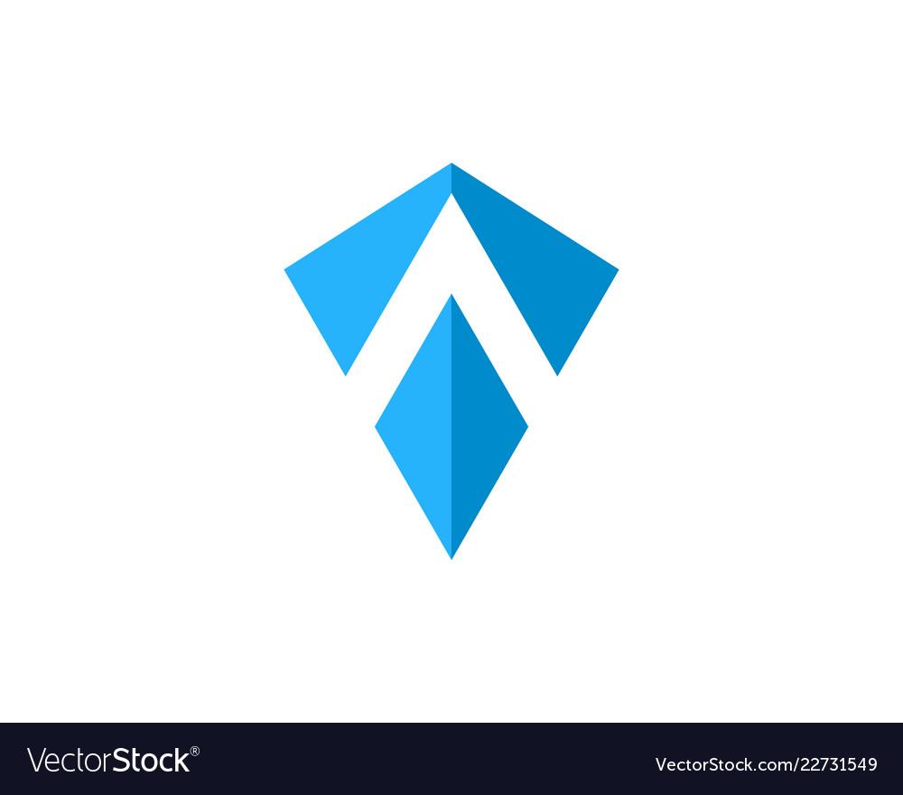 Shield letter a logo icon design