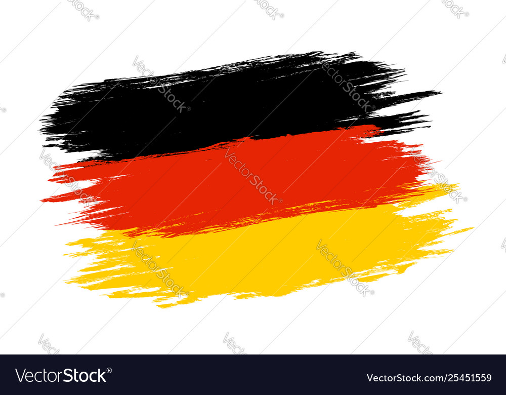 Germany flag in grunge style
