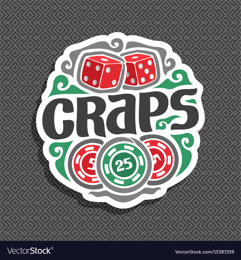 Logo for craps gamble