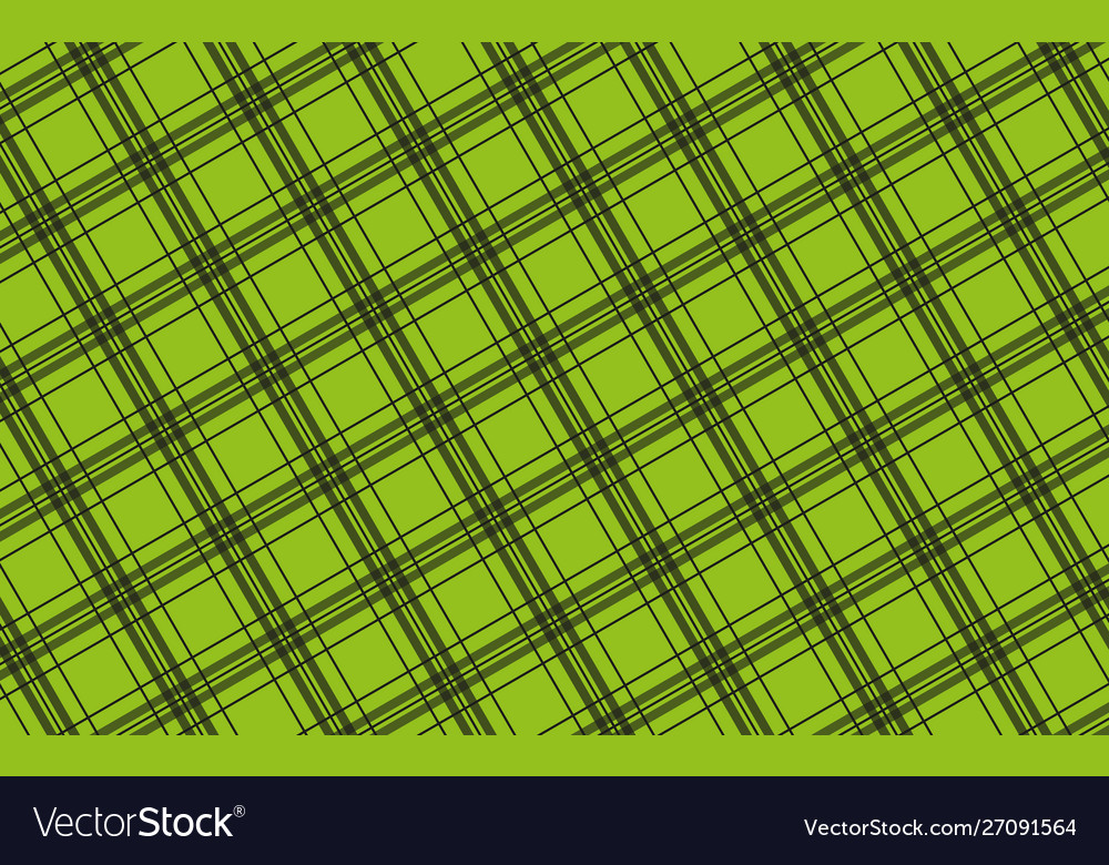 Black green diagonal checkered pattern simple