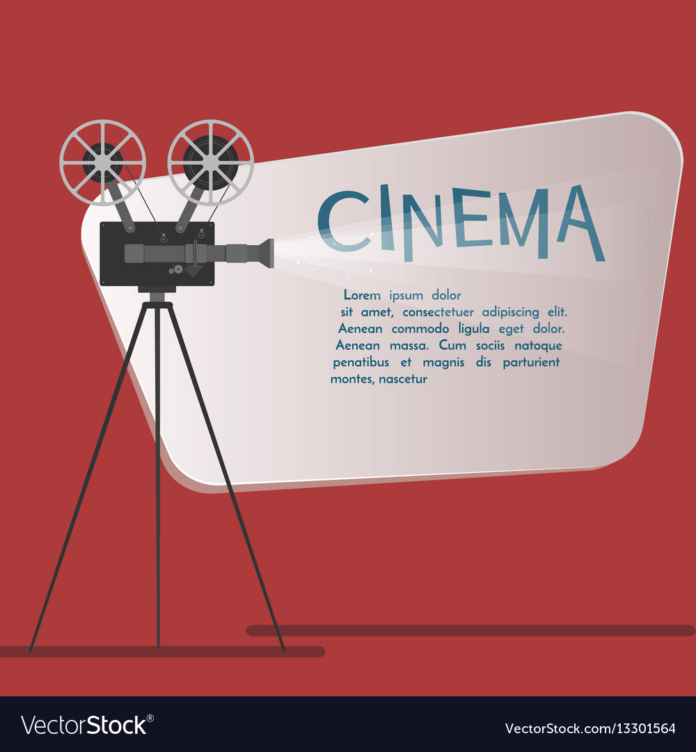 Cinema background or banner movie flyer or ticket