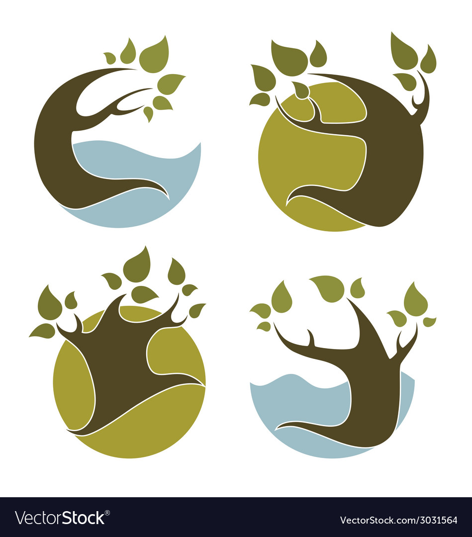 Nature emblems
