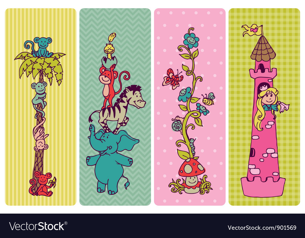 Vintage Children Banner Set
