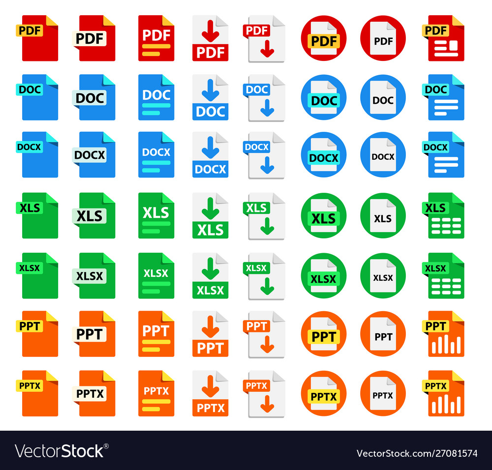 Big collection icons file format
