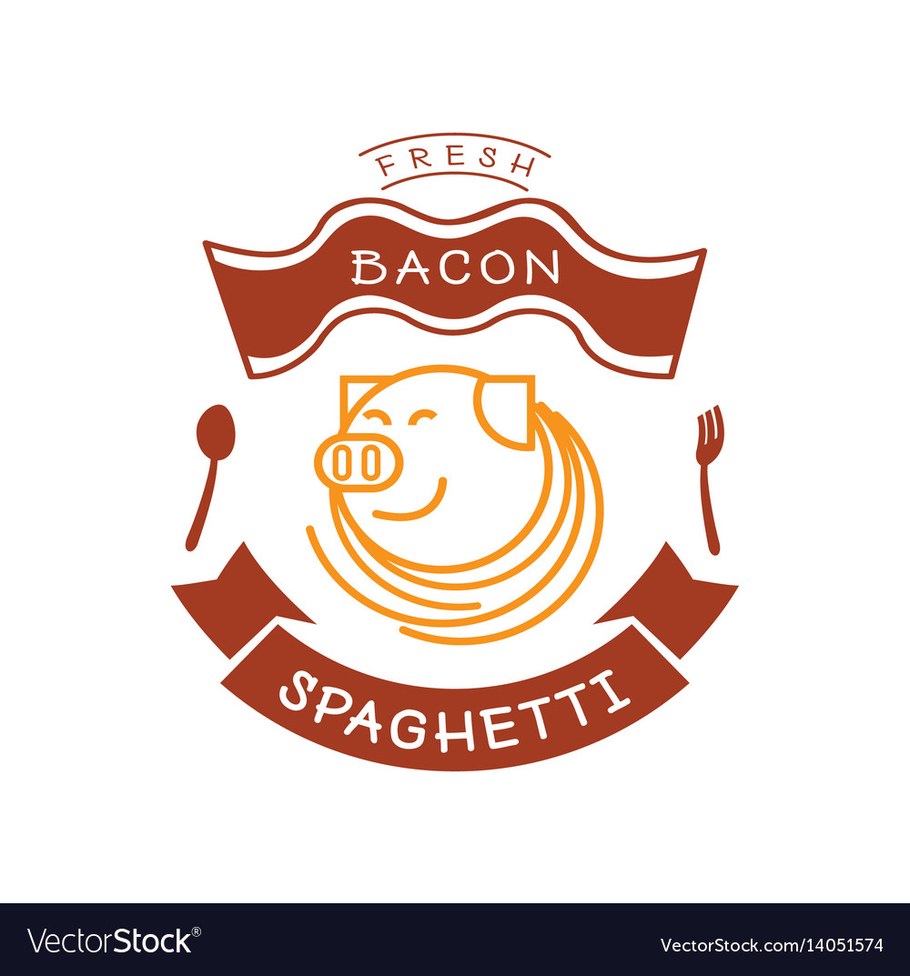 fresh-bacon-spaghetti-logo-with-pig-and-