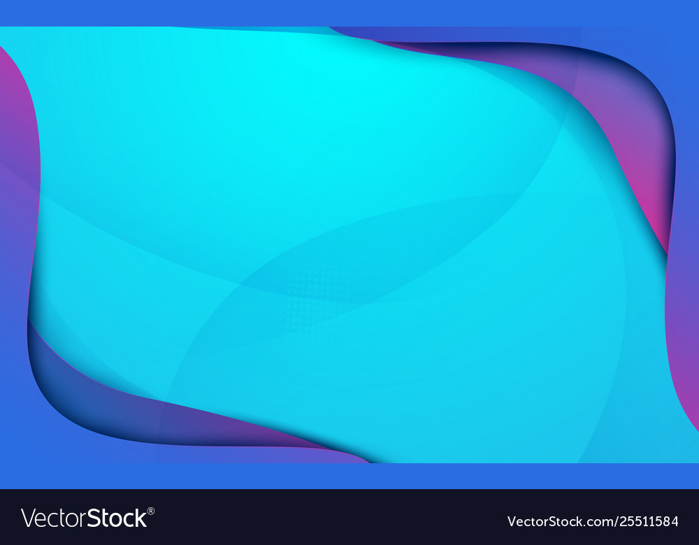 Abstract colorful fluid shapes background