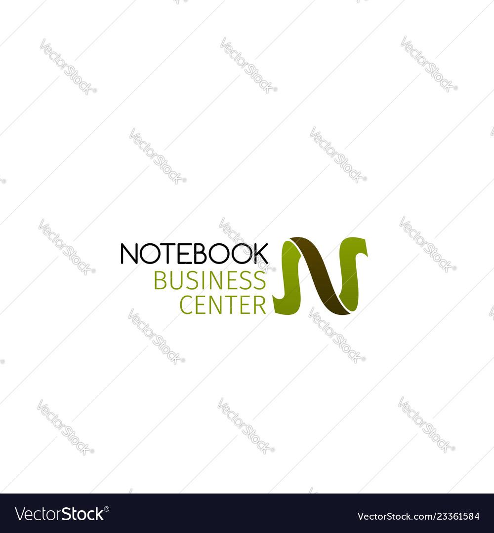 Business center sign