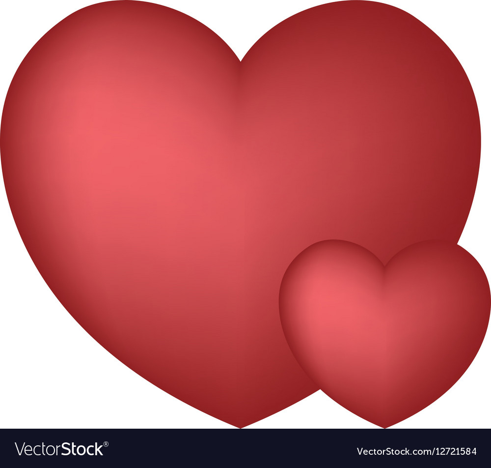 hearts love ornament beautiful design royalty free vector rh vectorstock com free vector heart graphic free vector heart download