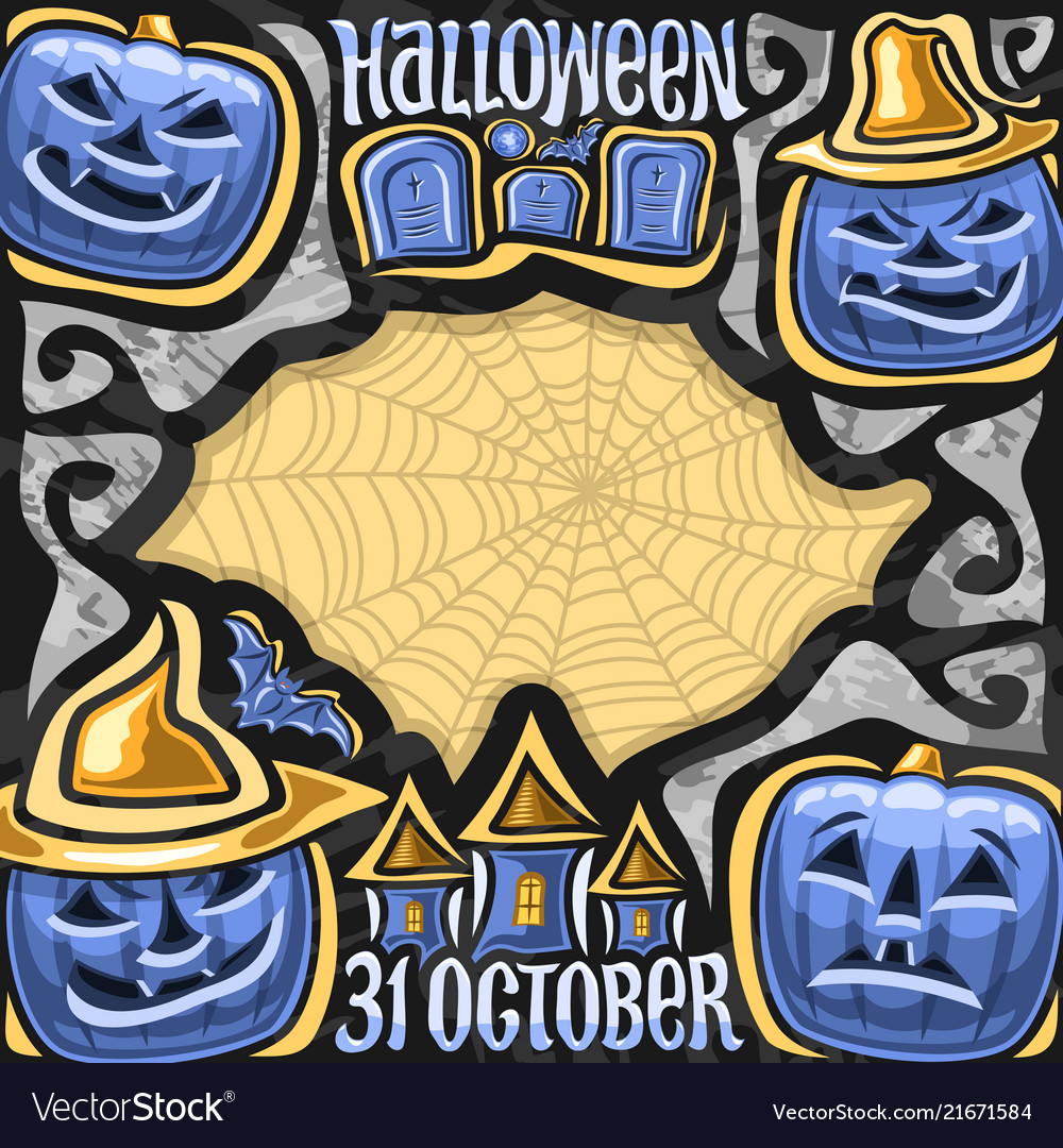 Poster for halloween holiday