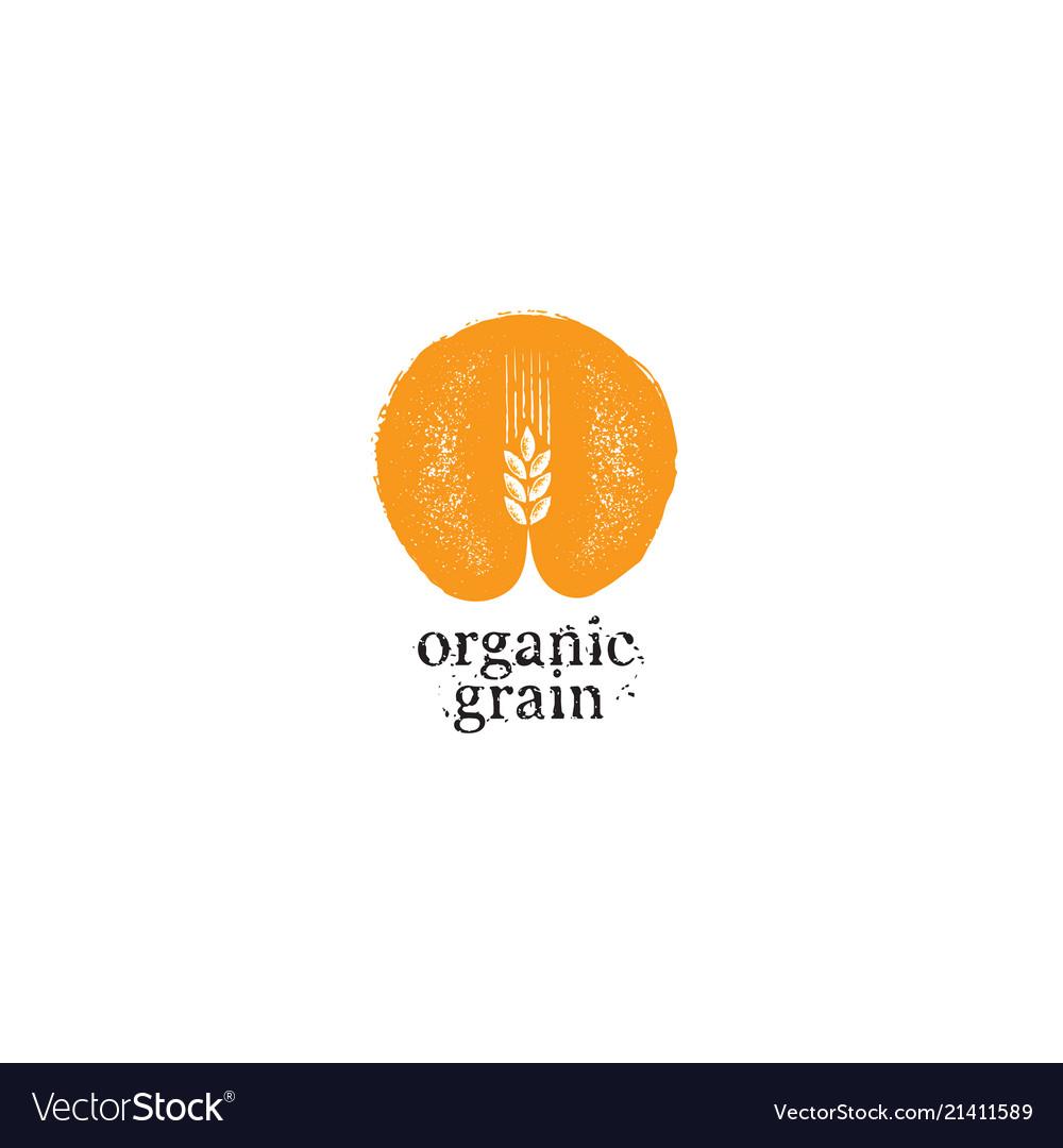 Agriculture organic grain rough