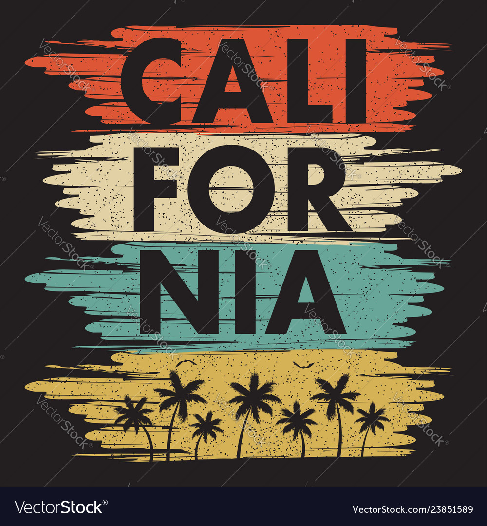 California print2 vector