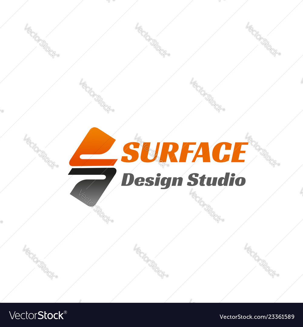 Surface design studio icon
