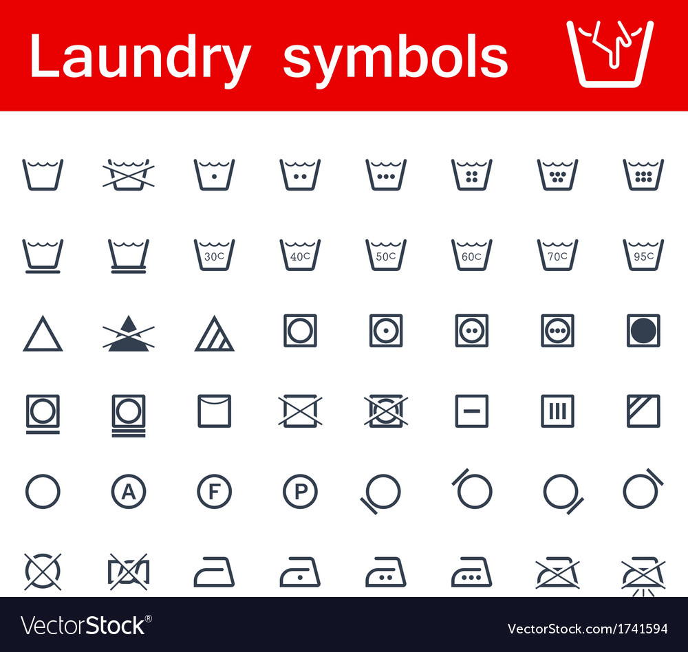 Laundry Symbols Pdf Gallery Meaning Of This Symbol