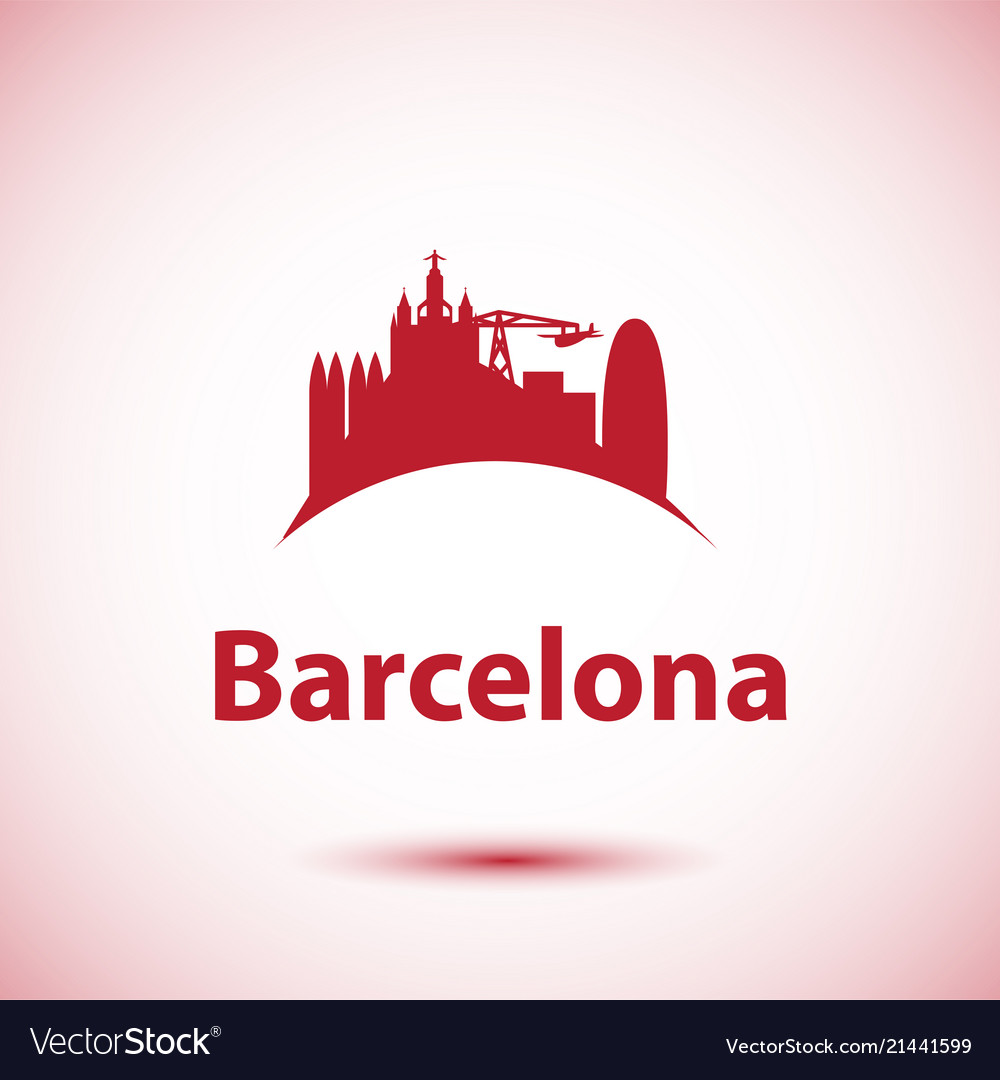 Barcelona detailed silhouette trendy
