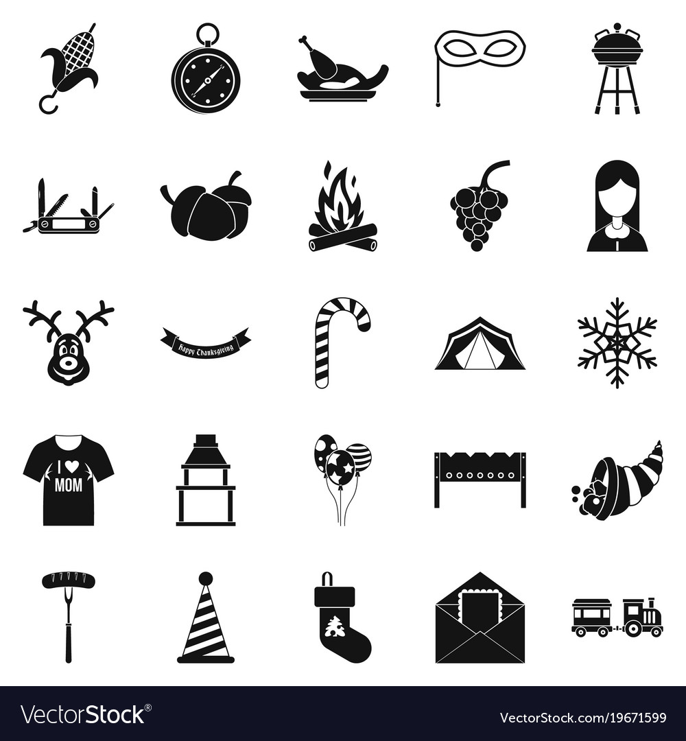 Family Reunion Icon Vector Images 43