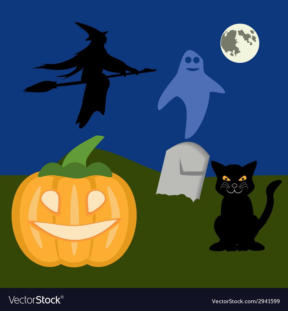 Halloween2 vector image