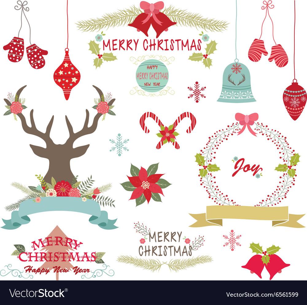 Merry ChristmasChristmas FlowersRustic Christmas