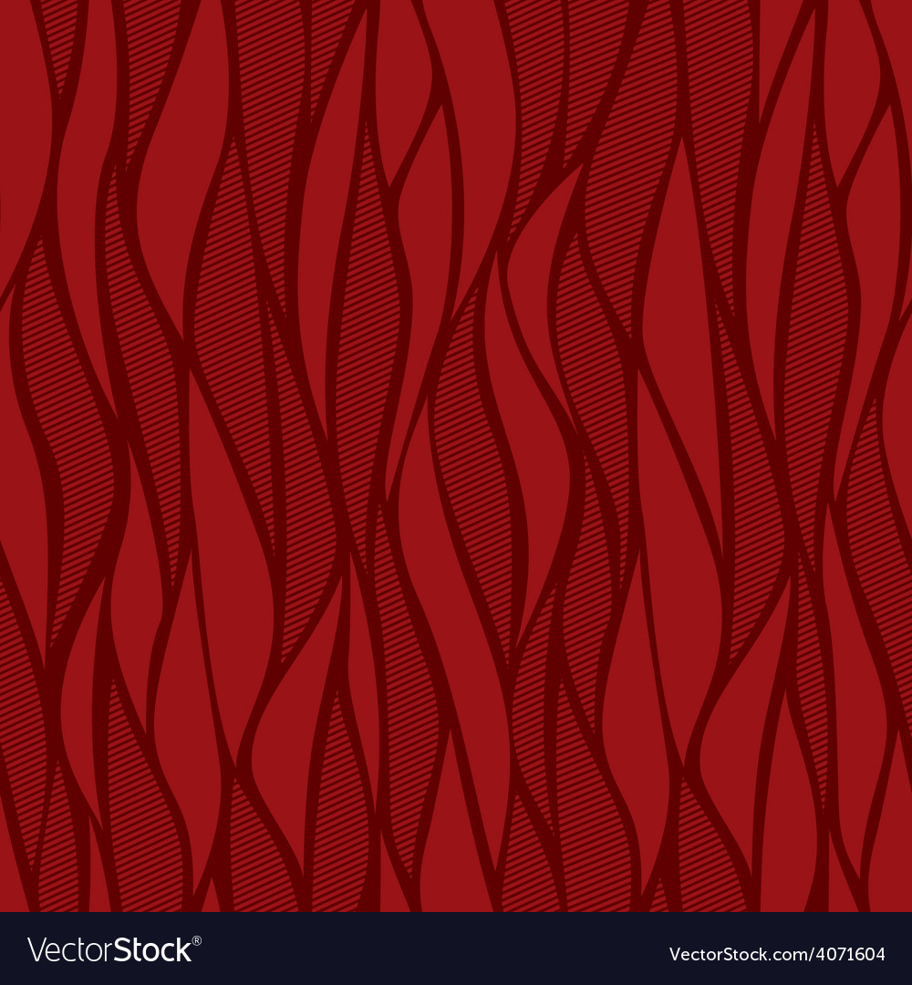 Red abstract seamless vector image