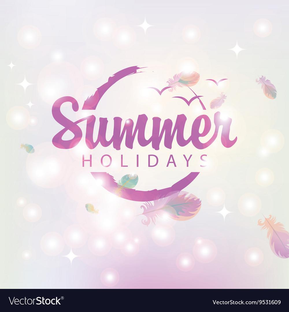 Travel banner summer holidays
