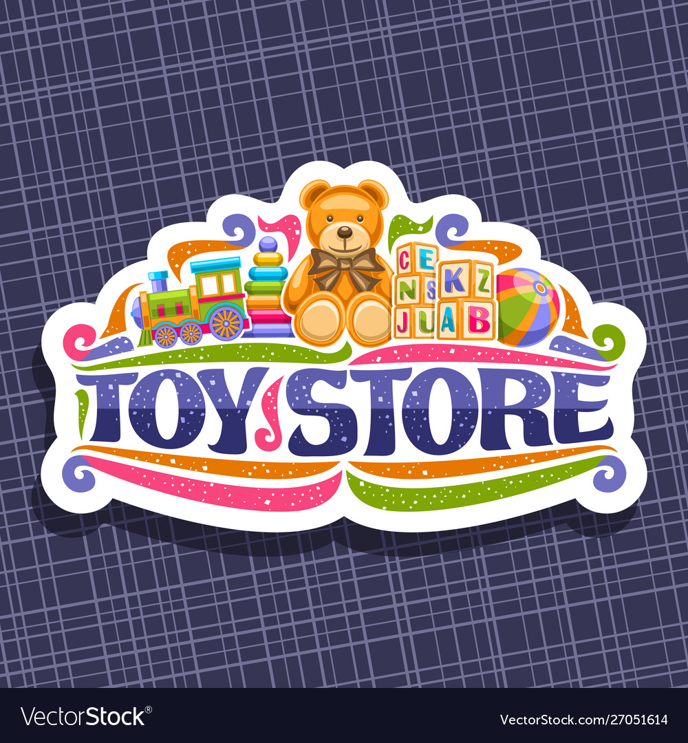 Logo for toy store