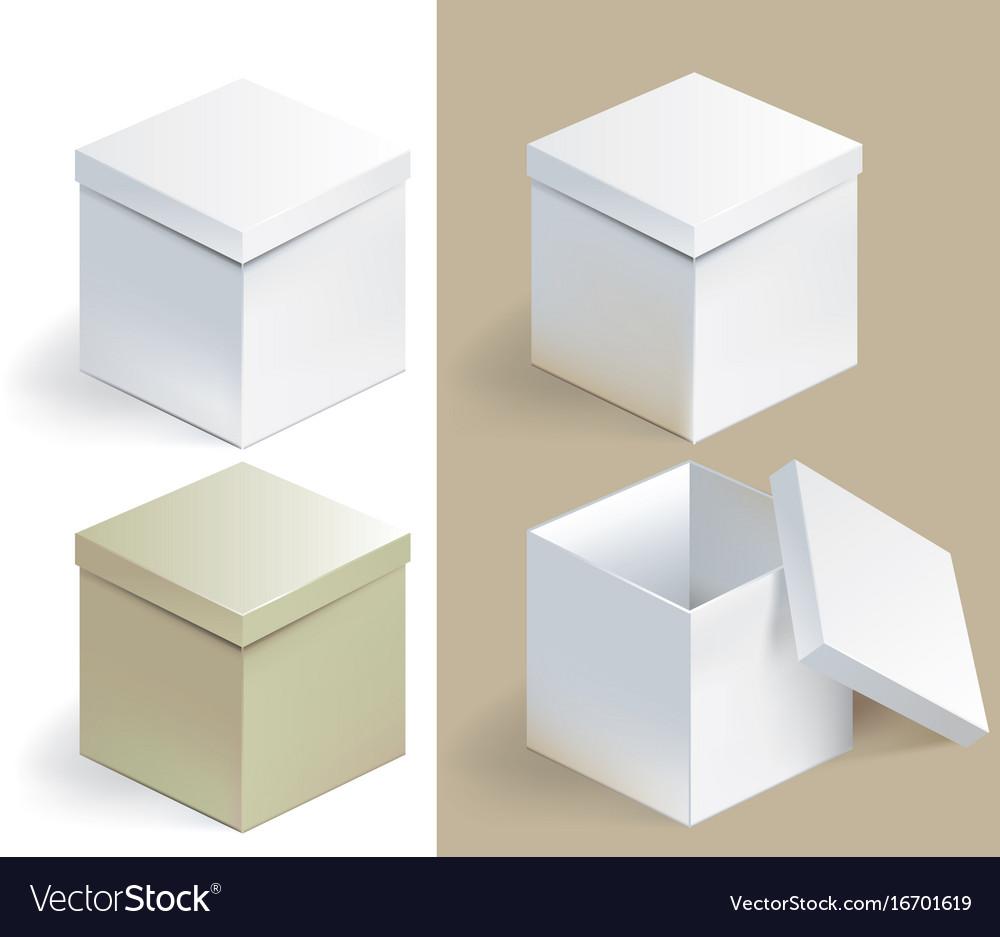 Empty sqare box