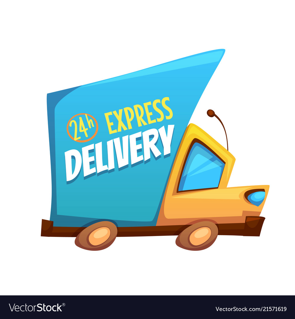 Express delivery truck with