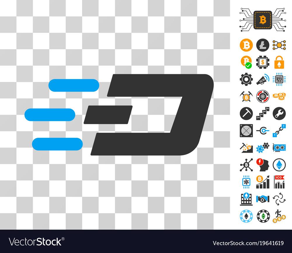 Fast send dash icon with bonus