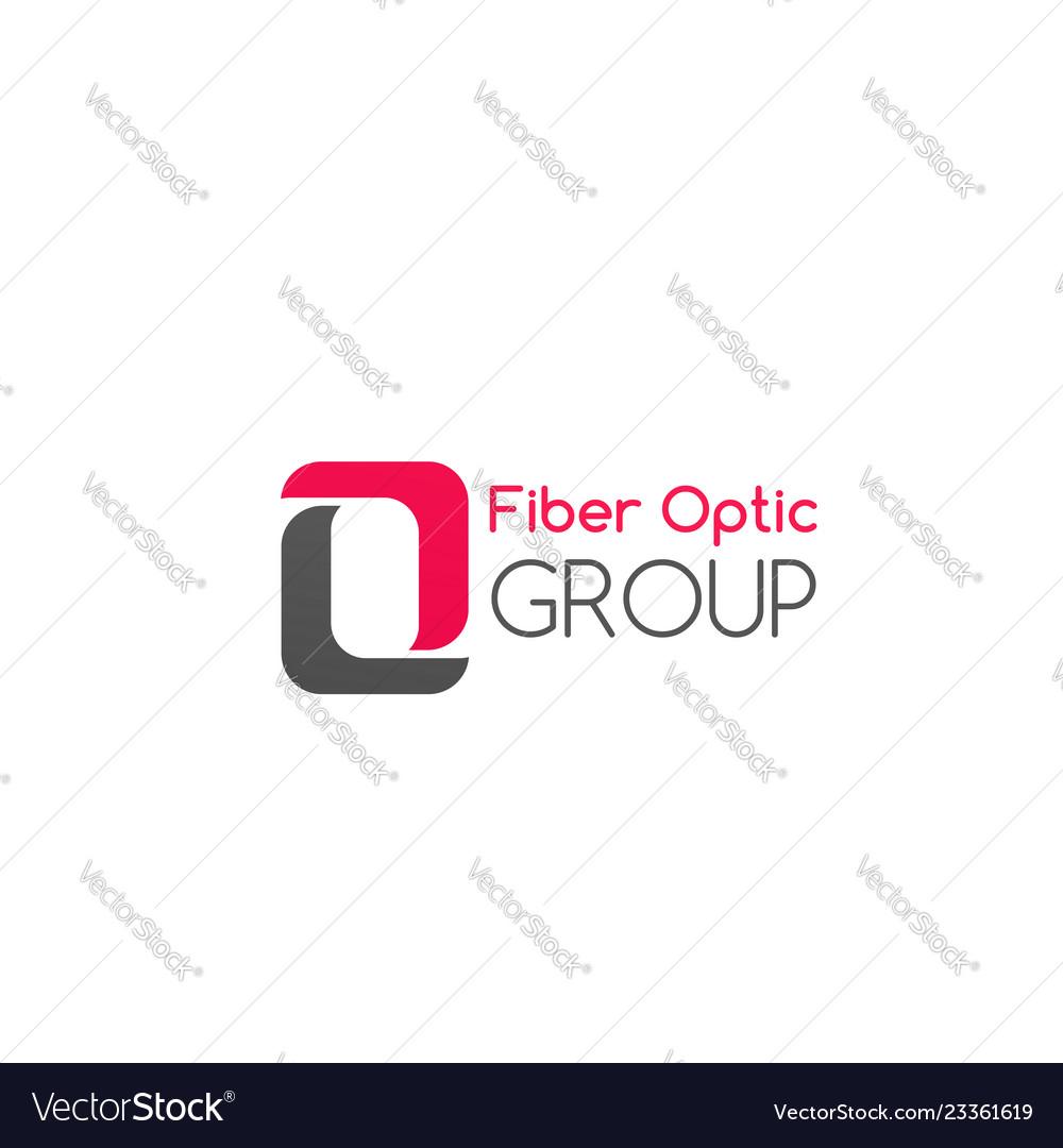 Fiber optic group badge