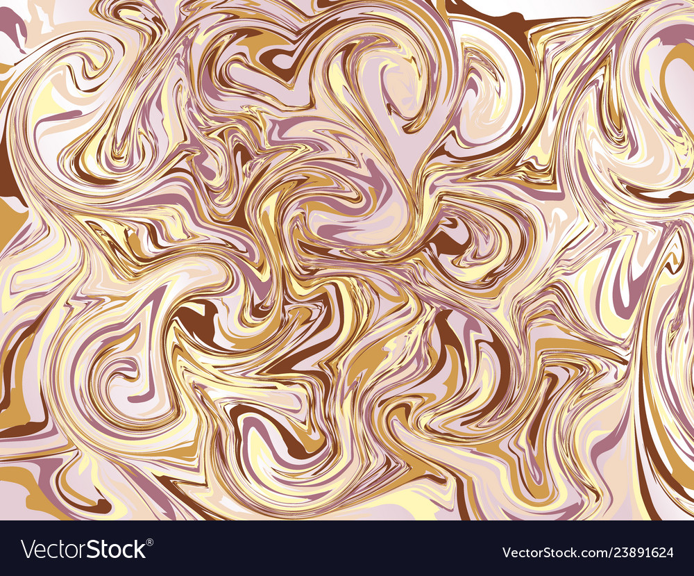 Abstract curl background with swirled stripes