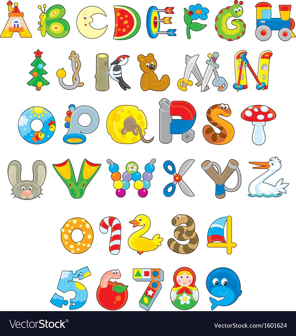 Toy font