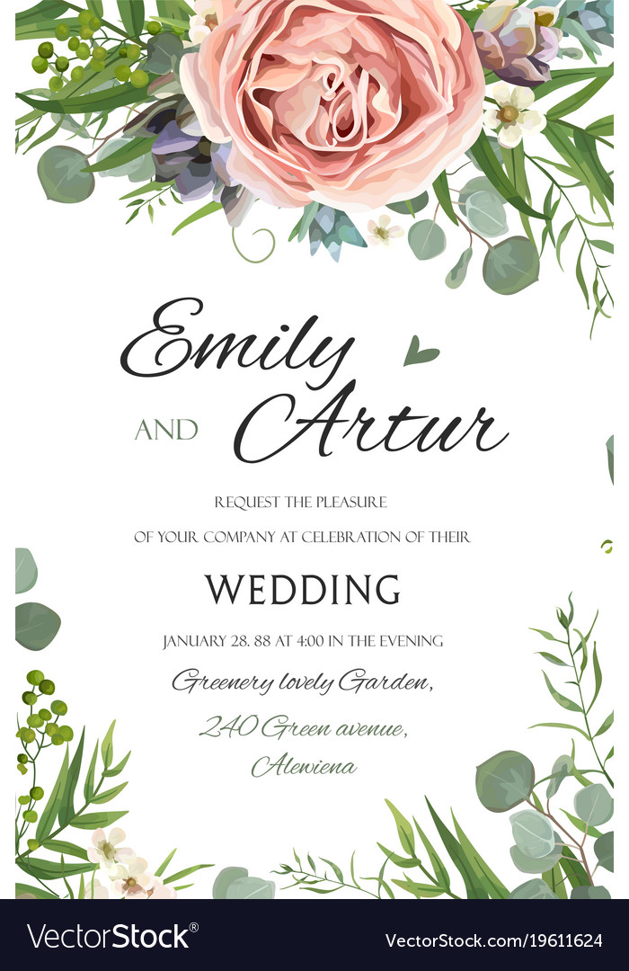Invitation Card Design Pinterest