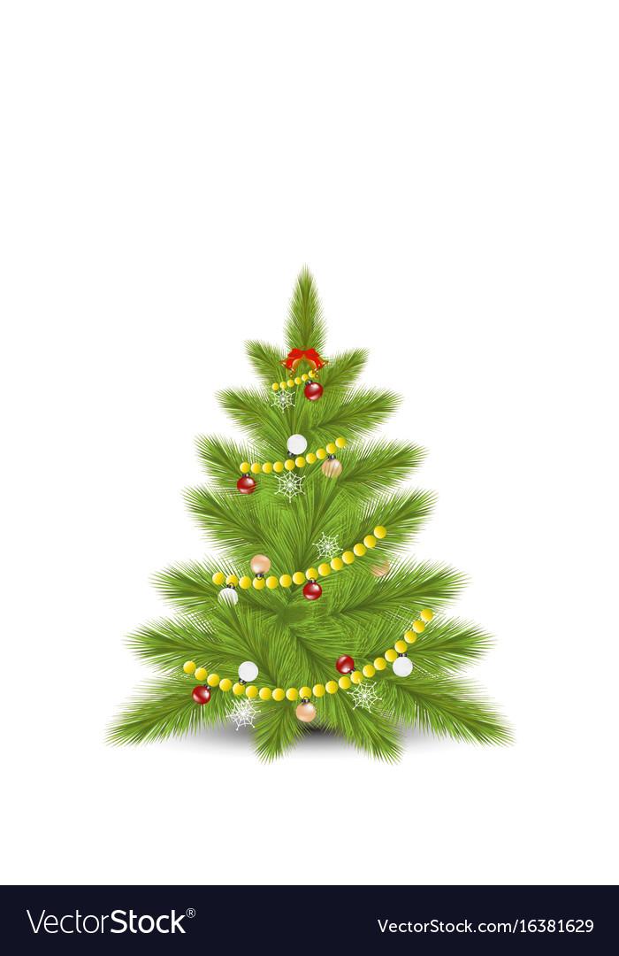 Christmas tree with fir