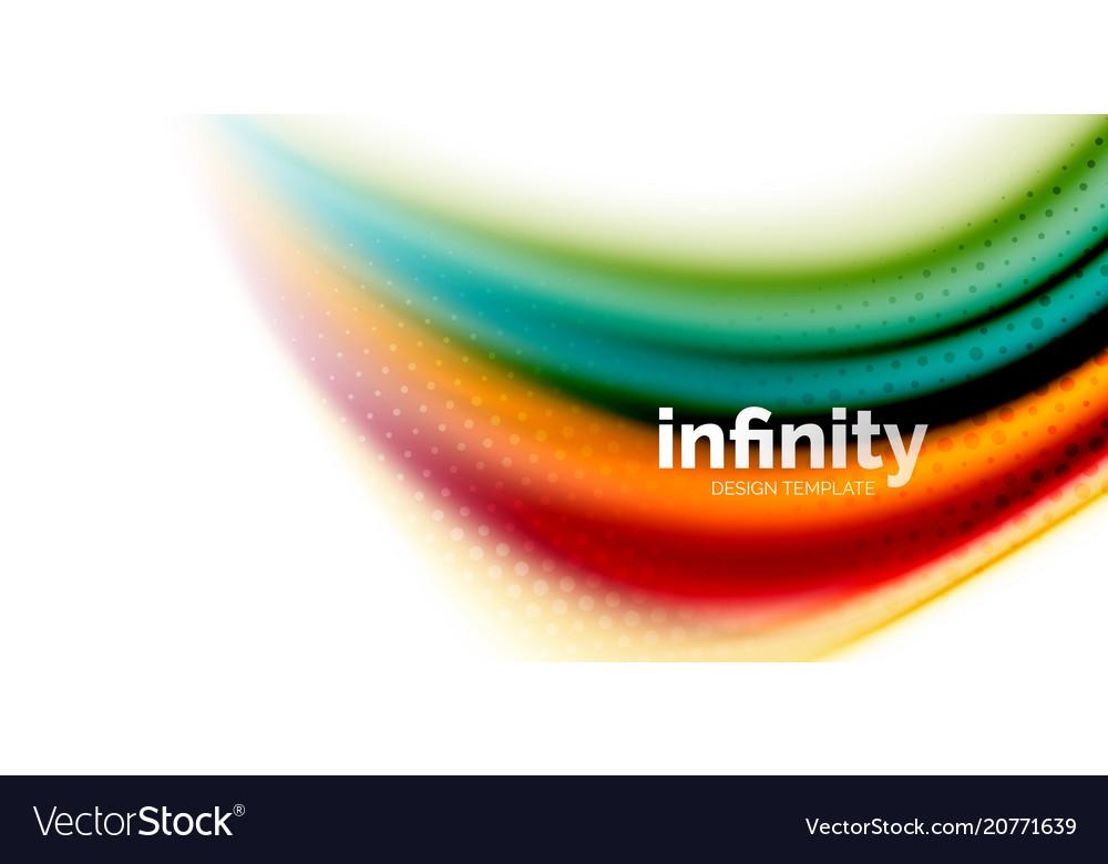 3d fluid colors wave background flowing