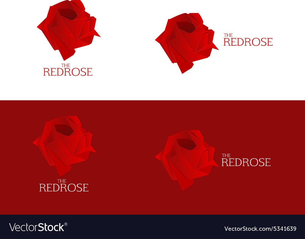Rose Logo vector image