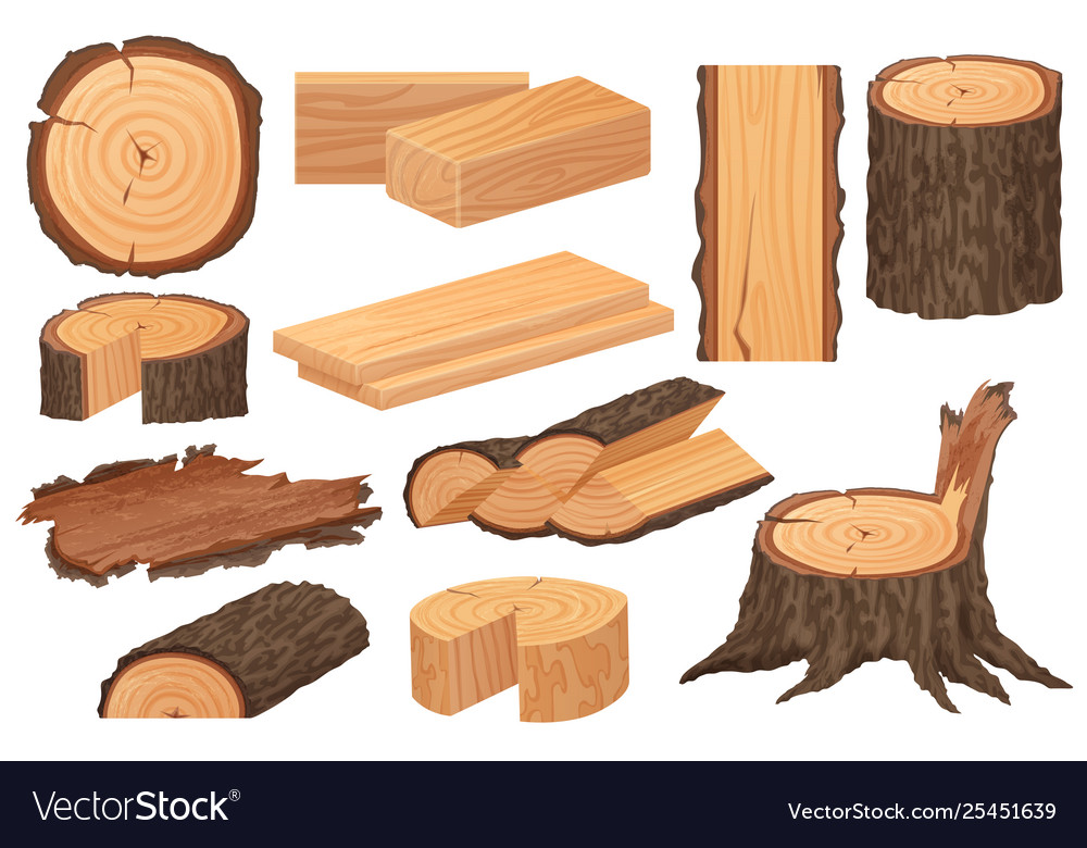 Wood industry raw materials realistic high
