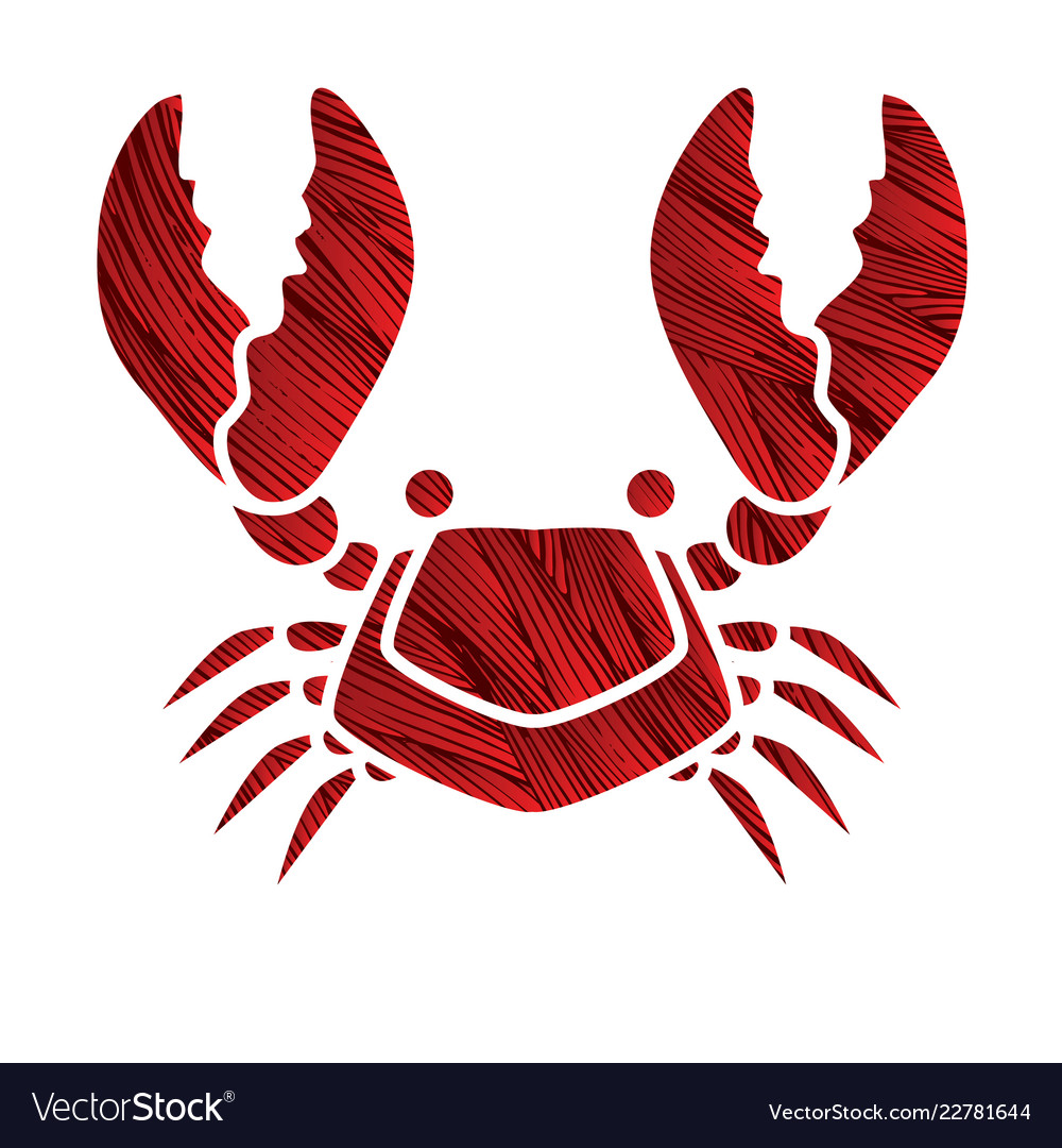 Big crab graphic