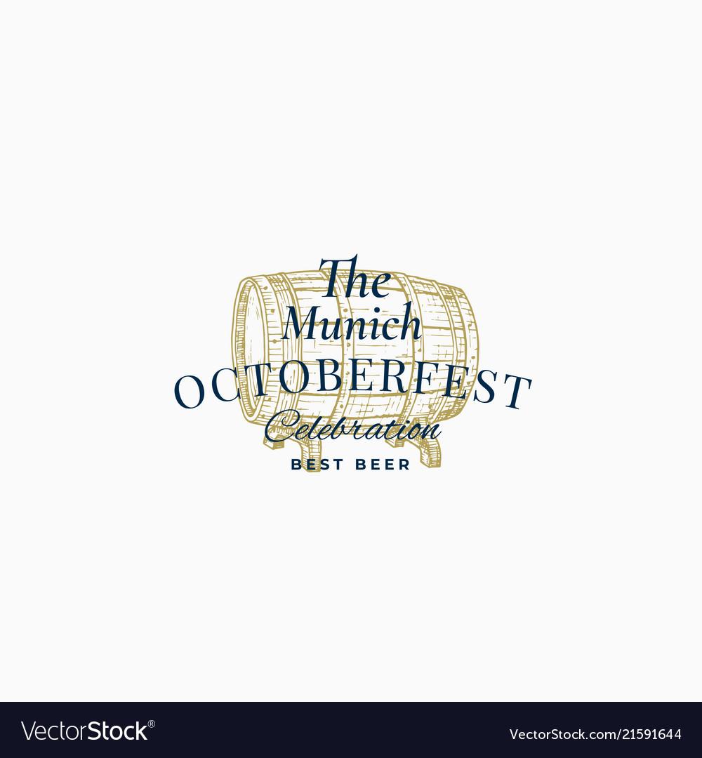 Munick octoberfest beer festival abstract