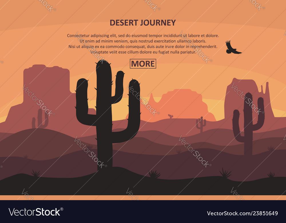 Desert journey page